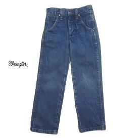 【中古】Wrangler デニムパンツ ラングラー デニム キッズ4歳 アメリカ古着 子供服 【異国屋】