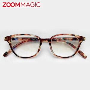 \全品ポイント2倍/zoom magic 遠近両用 老眼鏡 サングラス 度数1.5 2.0 2.5 3.0 【 ボストンデミ 】 シニアグラス リーディンググラス おしゃれ 老眼鏡 男性 女性