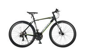 クロスバイク 自転車 700C シマノ21段変速 軽量 CANOVER カノーバー CAC-027-DC ATHENA (アテナ)
