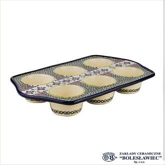 [Zaklady Ceramiczne Boleslawiec/자크와디보레스와비에트 도기]머핀형-du60