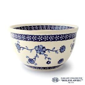 [Zaklady Ceramiczne Boleslawiec/ザクワディ ボレスワヴィエツ陶器]ラウンドボウル(Lサイズ)-273/ポーランド陶器