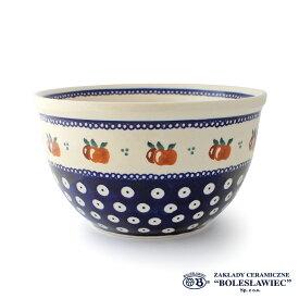 [Zaklady Ceramiczne Boleslawiec/ザクワディ ボレスワヴィエツ陶器]ラウンドボウル(Lサイズ)-479/ポーランド陶器