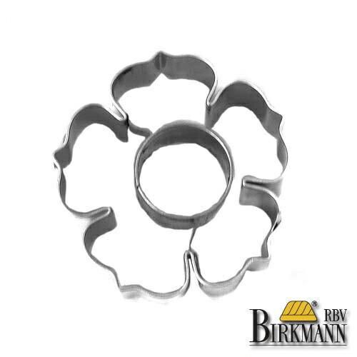 【BIRKMANN/ビルクマン】クッキー型(野ばら、花、フラワー型・6×6cm)