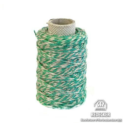 REDECKER レデッカー 亜麻の多目的紐糸(グリーン×グレー)75m