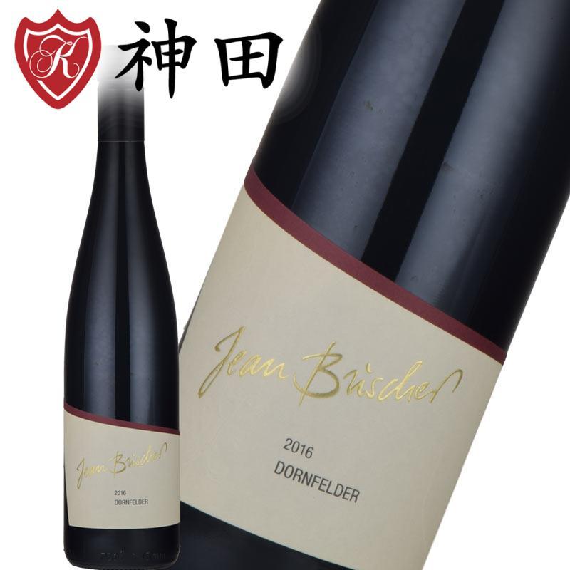 赤ワイン ジャン・ブシャー ドルンフェルダー 2016 ドイツ ワイン 甘口