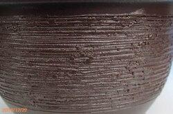 【産地直送・送料無料】信楽焼植木鉢窯肌輪型11号【ガーデニング・観葉植物・寄せ植え】