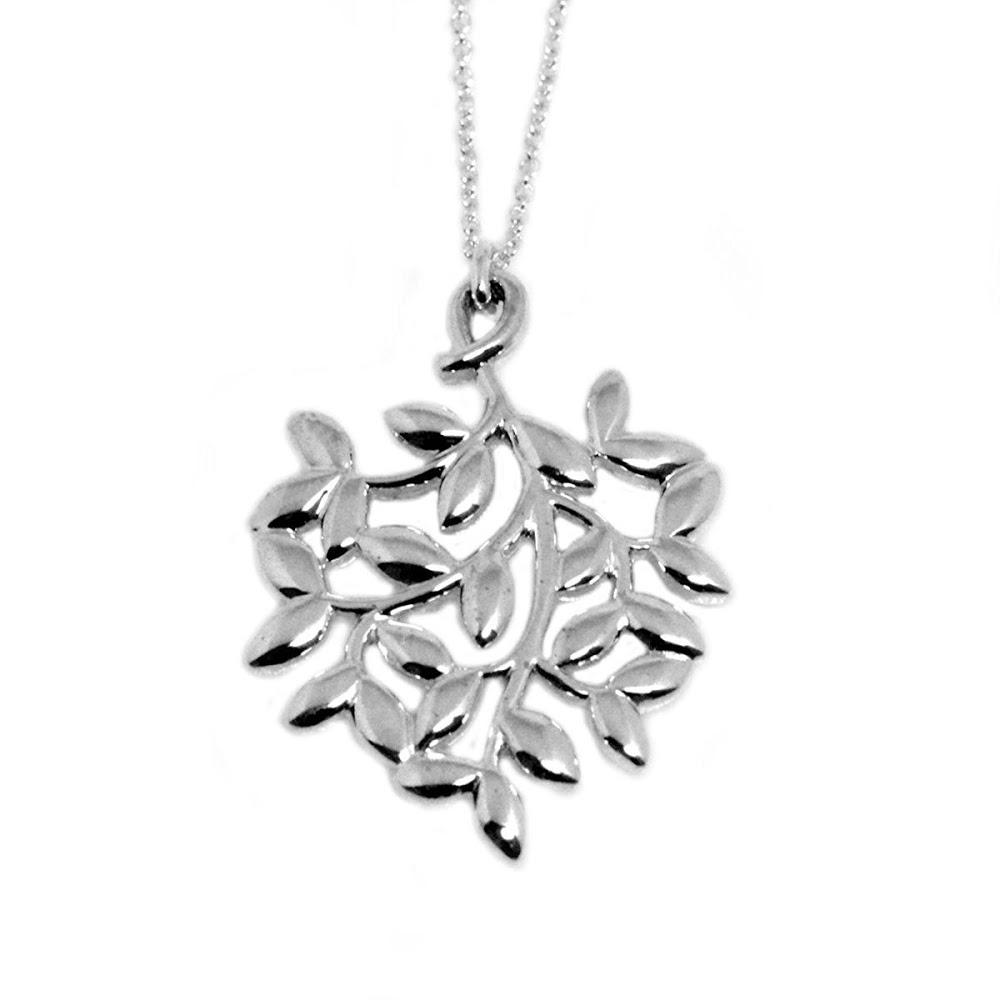 ティファニー Tiffany & Co.30143175 パロマ・ピカソ オリーブ リーフ ペンダント スモール SS ネックレス 【送料無料】【Luxury Brand Selection】