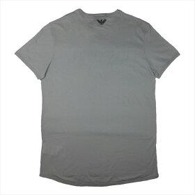 エンポリオアルマーニ(EMPORIOARMANI)メンズ半袖ニットTシャツL1T09JL1T5J600GREY(SIZES)