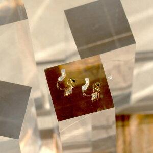 ノンホールピアス 431A イヤリング 痛くない 落ちにくい ピアス 金属 アレルギー 対応 シリコンカバー ピアスに見える ニッケルフリー ピアス風 医療 シンプル シルバー ゴールド パール ジル