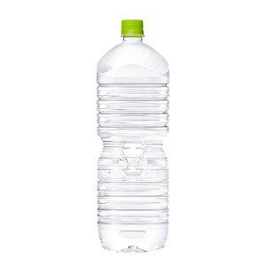 コカ・コーラ い・ろ・は・す天然水 PET ラベルレス 2L 6本入×2ケース