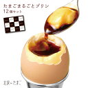 【たまごまるごとプリン12個入り】送料無料 お中元 ギフト スイーツ プリン ぷりん 詰め合わせ 北坂たまご 卵 たまご …