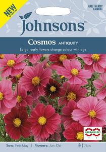【輸入種子】Johnsons Seeds Cosmos ANTIQUITY コスモス アンティクワティ ジョンソンズシード