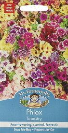 【輸入種子】Mr.Fothergill's SeedsPhlox Tapestryフロックス タペストリーミスター・フォザーギルズシード