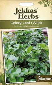 【輸入種子】Johnsons Seeds Jekka's Herbs Celery Leaf(Wild) ジェッカズ・ハーブス セロリ・リーフ(ワイルド)ジョンソンズシード