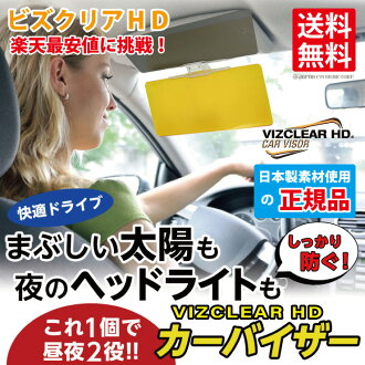 Coupon object with glare-proof Rakuten lucky seal for the night for sun visor visor shade UV cut awning awning sunshade movable car article lunch for the car visor car