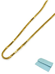 スライド ベネチアン ネックレス チェーン K18 45cm 彼女 誕生日 ジュエリー アクセサリー (ジュエリーコトブキ お磨きクロス付 ギフトセット) 送料無料