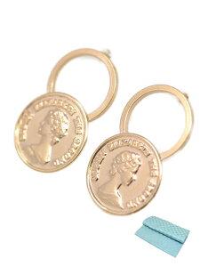 コイン タイプ ピアス K10 10金 ピアス レディース 人気 (ジュエリーコトブキ お磨きクロス付 ギフトセット) 送料無料
