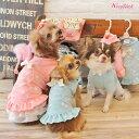 【DM便無料】【WOOFLINK】ウーフリンク BABY GIRL MINI DRESS(ワンピース/パステル/リボン/レース小型犬/犬服/トップス/ワンピース...