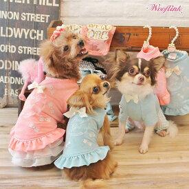 【ゆうパケット対象】【WOOFLINK】ウーフリンク BABY GIRL MINI DRESS(ワンピース/パステル/リボン/レース小型犬/犬服/トップス/ワンピース/ミニドレス)【犬服 ブランド】