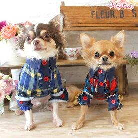 【ゆうパケット対象】【WOOFLINK】 (ウーフリンク)MY KINDA SHIRT【犬服 シャツ チェック トップス】【犬服 ブランド】