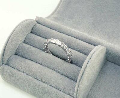 【Pt900】バケットダイヤモンド2.00ctエタニティリング【結婚指輪】【ギフト】【レディース】【プラチナ】