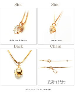 SolitairecollectionK18diamondnecklace天然ダイヤモンドネックレス1粒シンプルデザインダイヤモンドネックレス0.3ctK18イエローゴールドピンクゴールドホワイトゴールド