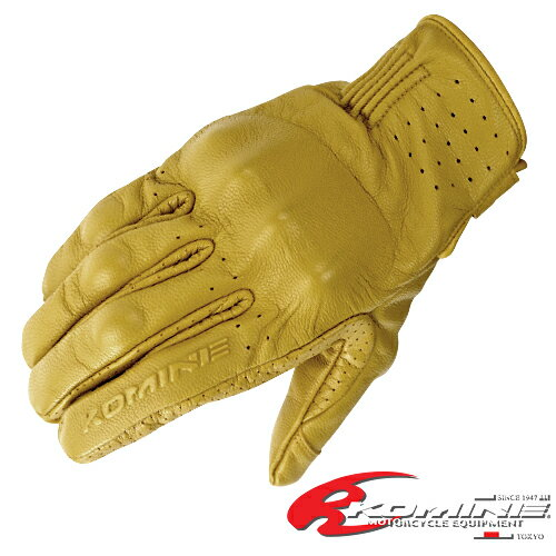 コミネ GK-179 CE プロテクトレザーグローブ KOMINE 06-179 CE Protect Leather Gloves