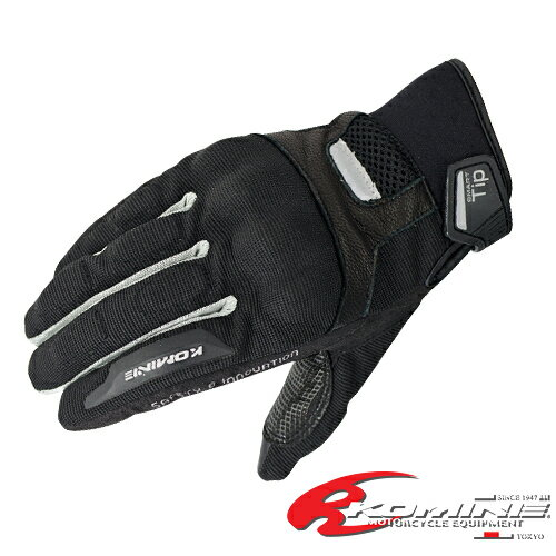 コミネ GK-181 プロテクトメッシュグローブ-ブロッカII KOMINE 06-181 Protect M-Gloves-BROCCA GK-131後継モデル