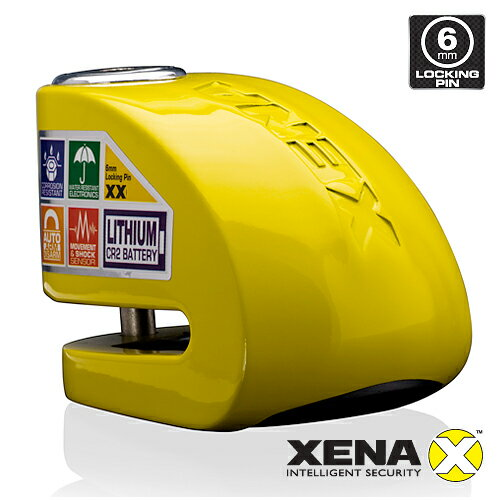 並行輸入 XENA XX6-Y (YELLOW) アラーム ディスクロック ゼナ