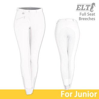 供供供供供供青少年使用的骑马马裤FSJ2(白臀部皮革)ELT比赛使用的小孩使用的白Jr.使用的小孩骑马使用的马裤漂白裤子裤子大会体育运动大会使用的骑马用品