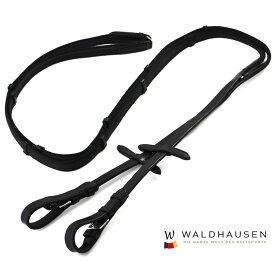 ノンスリップ手綱 WRA1(ブラック) FULL | ゴム加工 アンチスリップ 黒 本革 本皮 レザー 手綱 フル サイズ フルサイズ サラブレッド 馬 乗馬 乗馬用 乗馬用品 馬具