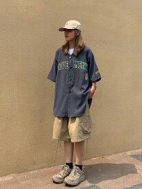 送料無料 ベースボール シャツ 野球 半袖 ボタンシャツ ストライプ 無地 ロゴトップス 黒 グレー ベージュ ビッグサイズ ストリート ヒップホップ ダンス ダンス衣装 大量 大口 ゆるかわ 大きいサイズ M L XL XXL かっこいい 男女兼用 レディース メンズ