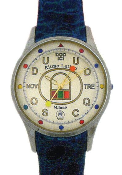 【Ritmo Latino腕時計フィーノ(ホワイト/バンド:ロイヤルブルー)ラージサイズ】圧倒的な「存在感」・「楽しさ」「遊び心」・「情熱」を感じさせてくれます。【リトモラティーノ】