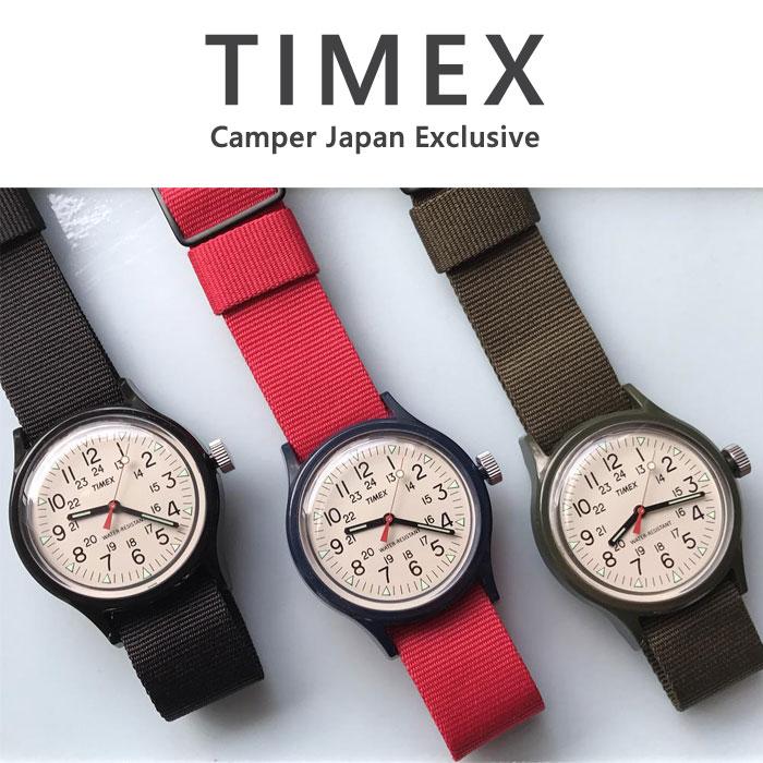 タイメックス TIMEX 腕時計 TW2R77900 TW2R78100 TW2R77800 キャンパー camper 12月販売 日本限定企画 オリジナルキャンパー アイボリー ダイアル 36mm ナイロンストラップ 【正規輸入品】