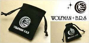 WOLFMAN/B.R.S/ウルフマン/シルバー/ネックレス/ブラック/彼氏/メンズ