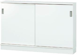 カウンター下収納 薄型 引き戸 タイプS 幅1440 奥行250 mm: 完成品 日本製 収納 カウンター下 窓下収納 送料無料 K-Style