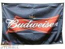【ゆうメール送料無料】バドワイザー BUDWEISER KING OF BEERS 高品質 光沢 フラッグ タペストリー 店舗 インテリア …