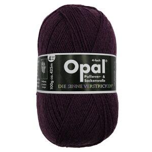 毛糸 Opal オパール 靴下用毛糸 Uni 3072 / バイオレットてあみ かぎ針 棒針 ニット 手編み 編み物 手芸 ハンドメイド 手作り