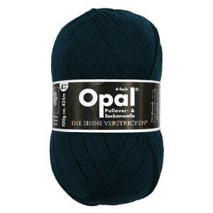 毛糸 Opal オパール 靴下用毛糸 Uni 5187 / ぺトロールブルーてあみ かぎ針 棒針 ニット 手編み 編み物 手芸 ハンドメイド 手作り