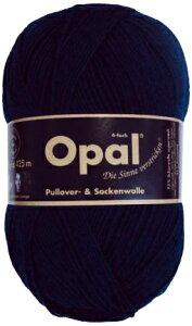 毛糸 Opal オパール 靴下用毛糸 Uni 5190 / マリーンネイビーてあみ かぎ針 棒針 ニット 手編み 編み物 手芸 ハンドメイド 手作り