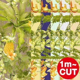 【1m単位 切り売り】壁紙 はがせる【賃貸OK/フリース壁紙】 貼ってはがせる壁紙 Botanical Pineapple ボタニカル パイナップル Jebrille Wallpaper ジュブリー カット販売 ハワイアン 木目 南国 ハワイ 日本製 はがせる壁紙 壁紙 おしゃれ