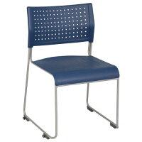 パスチェPPスタッキングチェア会議椅子スタックチェア会議チェアミーティングチェア会議用椅子グループチェア会議室用椅子いす椅子チェア垂直スタッキング肘付き肘掛け積重積み重ね収納【アイボリーブラックブルー】オフィス家具【安】
