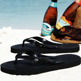 レディース サンダルビーチサンダル ブラック ブラック 24cm 島ぞうり 「人気の スカイウェイ ブランド 」 メンズ レディース キッズ 子供 ビーサン 【 SKYWAY 元祖 島草履 ( 島ぞうり ) 】