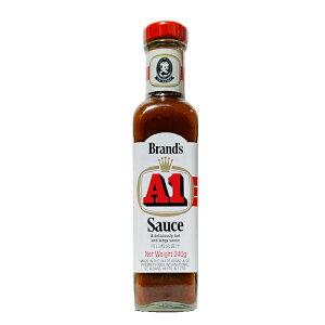 A1ソース エーワンソース 240g 送料無料 沖縄の ステーキ ソース といえば「A1」!! 外国人が多く多国籍文化の沖縄で人気の ステーキ ソース です甘酸っぱさがやみつき!