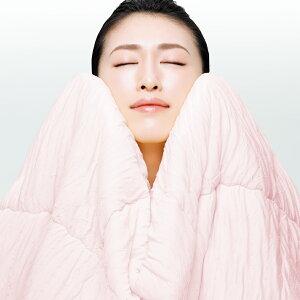 とろけるふとんイニフィー2肌掛け布団シングルふわふわやわらかい洗える洗濯日本製送料無料ギフト快眠博士ピンクブラウンenifea