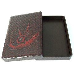 硯箱鎌倉6寸梅(横幅16.9cm)『書道用品』