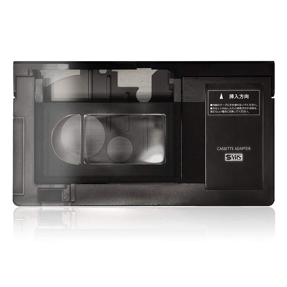 VHS VHS-C アタッチメント カセットアダプター VHS-C変換 VHSカセットアダプター