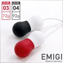 EMIGI エミギ ラブパール ヘビー&extヘビー セット /// 女子力アップ ツール 骨盤底筋 トレーニング グッズ ケーゲル…