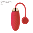 【正規品】SVAKOMEllaスヴァコムエラスマホから操作できる小型マッサージャー///マッサージ器リモコン無線アプリ電マ小型女性ラブグッズでんま静音電動マッサージリモバイデンマ電気マッサージ器ハンディバイブ小型電ママッサージ