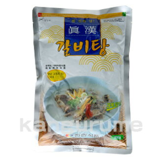 Shin Han ribs water 600 g ♦ Korea food ♦ Korea cuisine / Korea food material / Korea soup / soup / instant foods / retort pouched foods / winter, instant food and easy dishes and cheap
